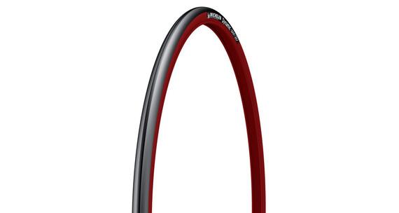 Michelin Dynamic Sport renkaat 23-622, vaijeri , punainen/musta